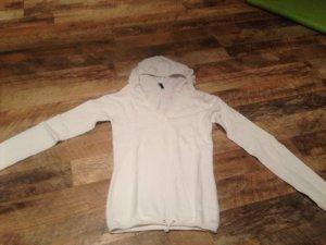 Jersey con capucha blanco puro