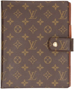 0009 Louis Vuitton Agenda Fonctionnel GM aus Monogram Canvas