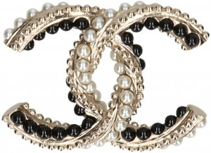 Chanel Broche multicolor metal