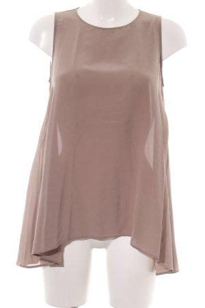 0039 Italy ärmellose Bluse bronzefarben Casual-Look