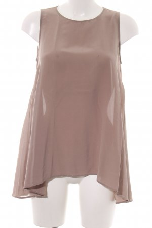 0039 Italy ärmellose Bluse nude Casual-Look