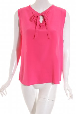 0039 Italy ärmellose Bluse pink Casual-Look