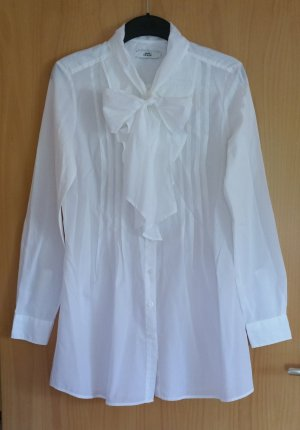 0039 Italy Camicetta a blusa bianco Cotone