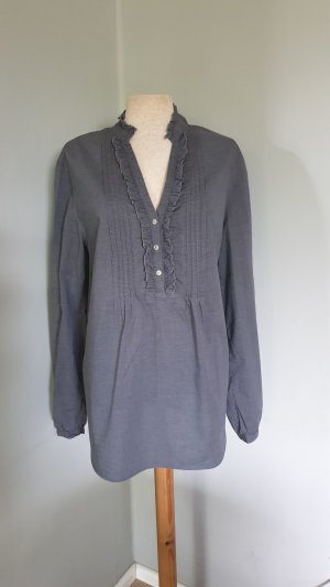0039 ITALY bluse tunika hemd grau gr.XL
