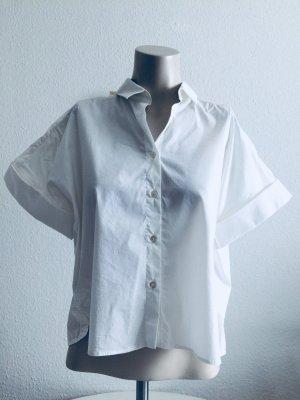 0039 Italy Bluse - ungetragen_moderne weite Ärmel - sehr wertige Verarbeitung