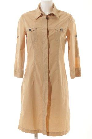 0039 Italy Blusenkleid beige Casual-Look