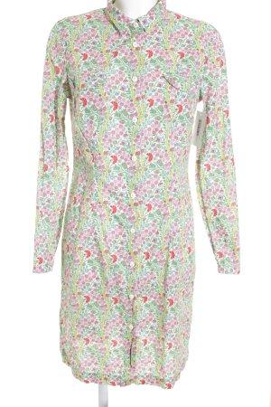 0039 Italy Blusenkleid florales Muster Casual-Look