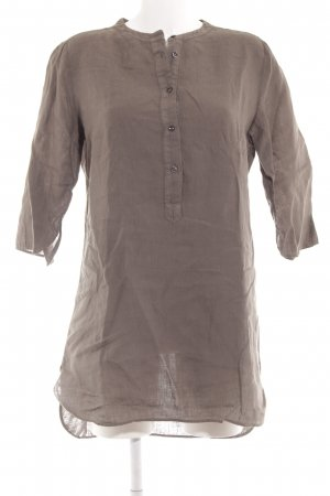 0039 Italy Blouse Dress green grey casual look