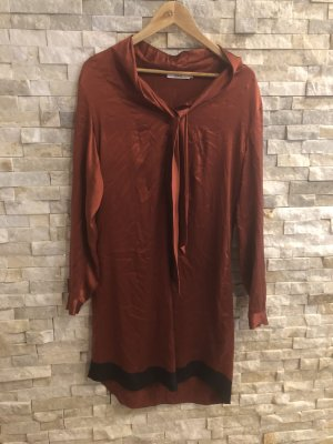 0039 Italy Blouse Dress russet