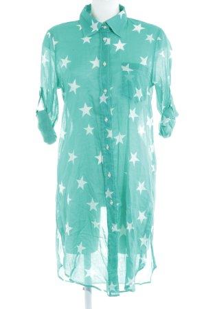 """0039 Italy Blusenkleid """"Tabea Kleid"""" mint"""