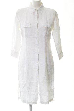 0039 Italy Blusenkleid weiß Casual-Look
