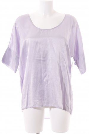 0039 Italy Blouse Top lilac wet-look