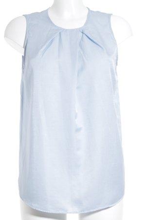 0039 Italy Blusentop hellblau schlichter Stil