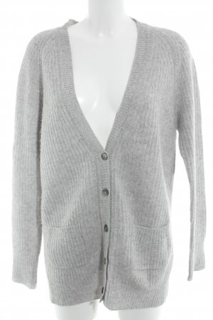 0039 Italy Cardigan light grey casual look