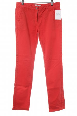 0039 Italy Chinohose rot Casual-Look