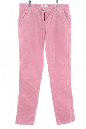 0039 Italy Cordhose pink Casual-Look
