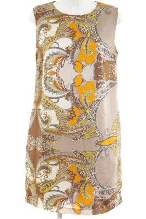 0039 Italy Etuikleid Ornamentenmuster 60ies-Stil