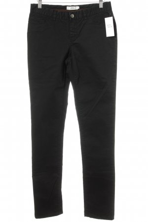 0039 Italy Five-Pocket-Hose schwarz Casual-Look