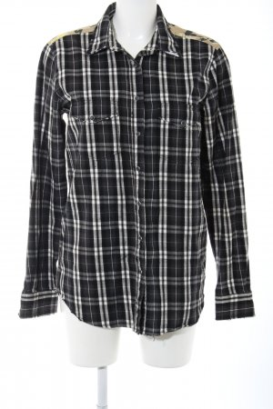 0039 Italy Flannel Shirt flower pattern casual look