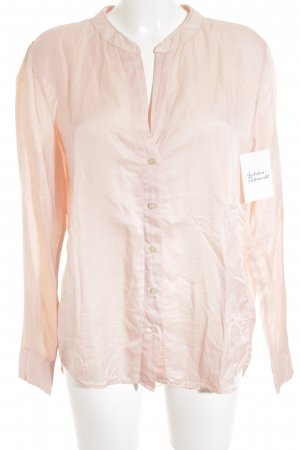 0039 Italy Splendor Blouse rose-gold-coloured wet-look