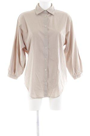 0039 Italy Hemd-Bluse wollweiß Elegant