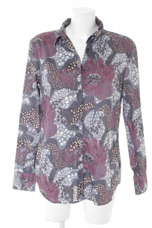 0039 Italy Shirt Blouse abstract pattern extravagant style