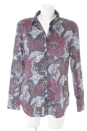 0039 Italy Camicia blusa motivo astratto stile stravagante