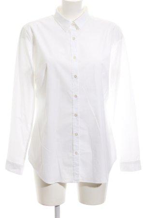 0039 Italy Blouse-chemisier blanc style d'affaires
