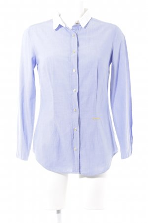 0039 Italy Shirt Blouse cornflower blue business style