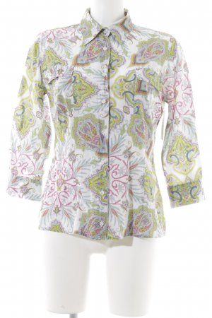 0039 Italy Hemd-Bluse Paisleymuster Casual-Look