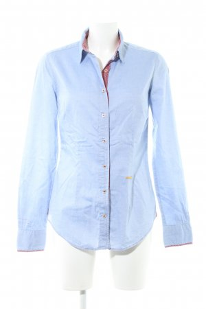 0039 Italy Hemd-Bluse Punktemuster Casual-Look