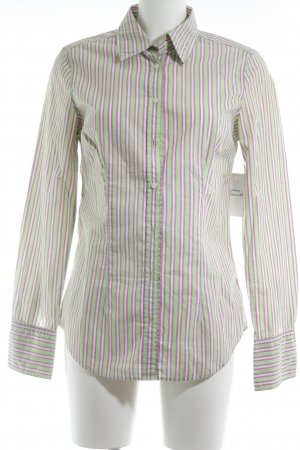 0039 Italy Shirt Blouse striped pattern business style