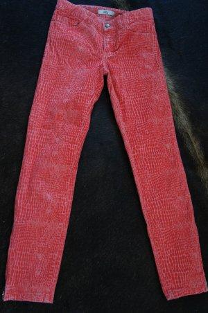 0039 ITALY Hose Jeans Größe XS W25 NEU