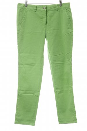 0039 Italy Low-Rise Trousers green casual look