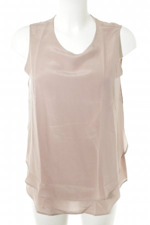 0039 Italy Short Sleeved Blouse dusky pink elegant