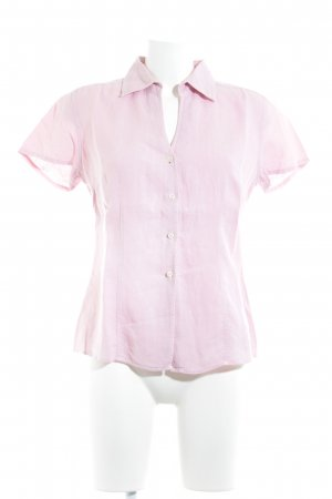 0039 Italy Short Sleeved Blouse pink casual look