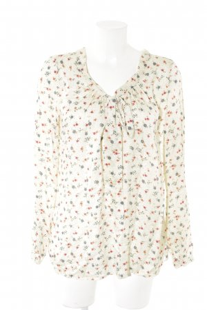 0039 Italy Long Sleeve Blouse floral pattern romantic style