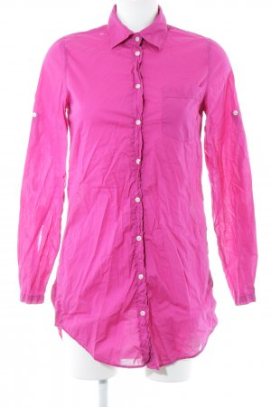 0039 Italy Long Sleeve Shirt magenta elegant