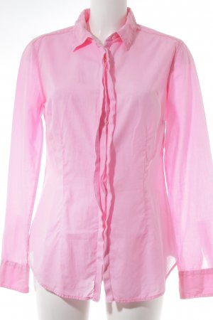 0039 Italy Long Sleeve Shirt neon pink business style