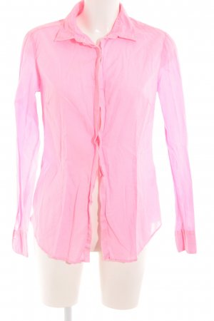 0039 Italy Langarmhemd neonpink Casual-Look