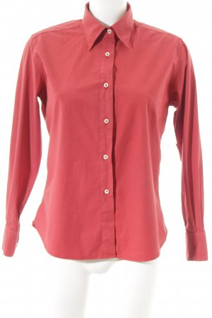 0039 Italy Langarmhemd rot Casual-Look