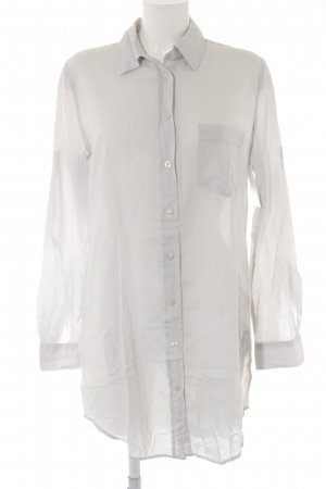 0039 Italy Long Blouse light grey casual look