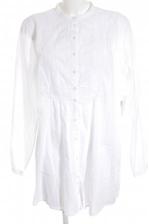 0039 Italy Long Blouse white business style