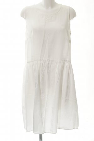 0039 Italy Minikleid weiß Casual-Look