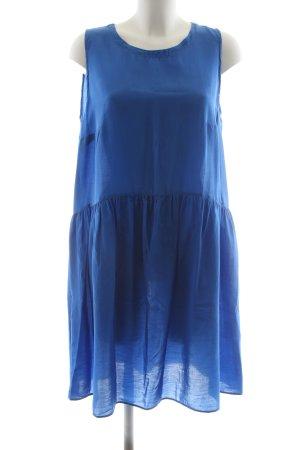 0039 Italy Minikleid blau Casual-Look