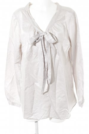 0039 Italy Schluppen-Bluse blasslila Elegant