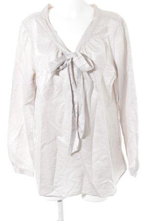 0039 Italy Tie-neck Blouse mauve elegant