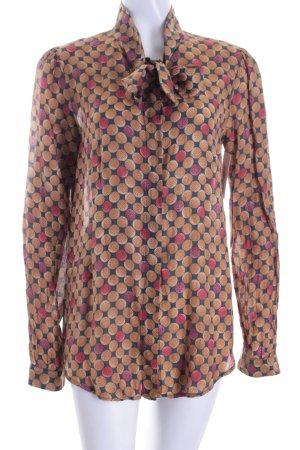 0039 Italy Schluppen-Bluse mehrfarbig klassischer Stil