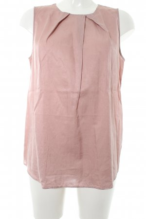 0039 Italy Zijden blouse stoffig roze casual uitstraling