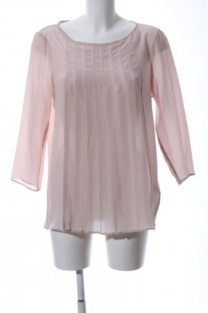 0039 Italy Silk Blouse pink casual look